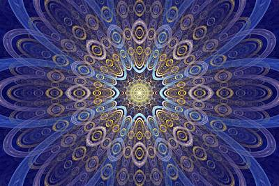 Digital Art - Inner Glow by Sandy Keeton