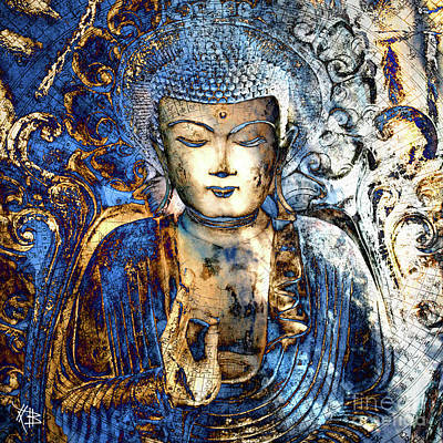 Buddhist Digital Art - Inner Guidance by Christopher Beikmann