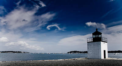 From The Kitchen - Derby Wharf lighthouse by Jeff Folger