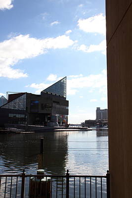 Inner Harbor At Baltimore Md - 12125 Art Print by DC Photographer