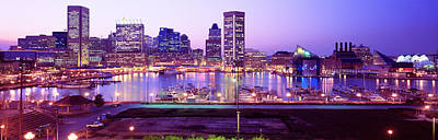 Inner Harbor Photograph - Inner Harbor, Baltimore, Maryland, Usa by Panoramic Images