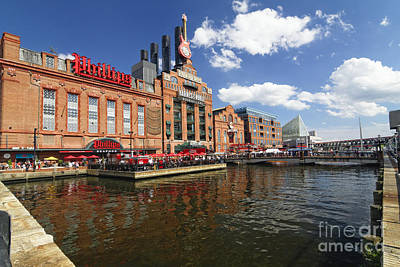 Inner Harbor Revival Art Print by George Oze