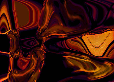 Digital Art - Inner Heat by Ginny Schmidt