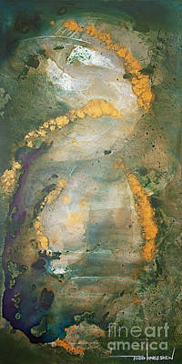 Macrocosm Painting - Inner Landscapes by Todd Karleskein