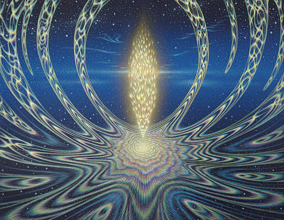 Painting - Inner Light by Tuco Amalfi