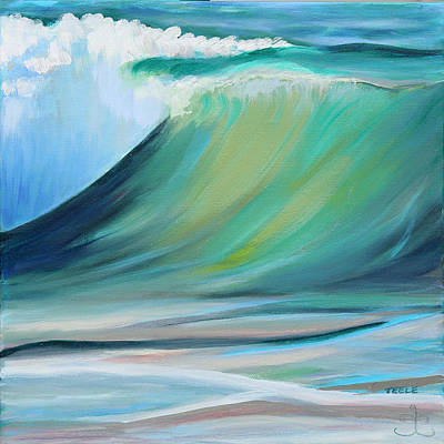 Painting - Inner Light Wave by Trina Teele