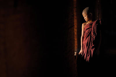 Buddhist Photograph - Inner Peace by Vichaya