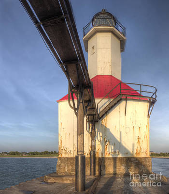Joseph Photograph - Inner Range Light At Saint Joseph by Twenty Two North Photography