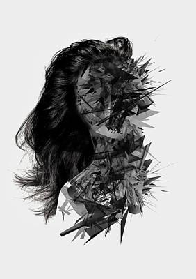 Digital Art - Inner Silence by Panda Gunda