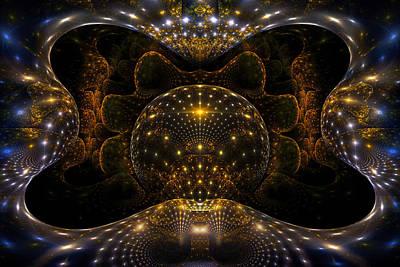 Phil Clark Digital Art - Inner Space by Phil Clark
