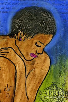 Painting - Inner Strength by Angela L Walker