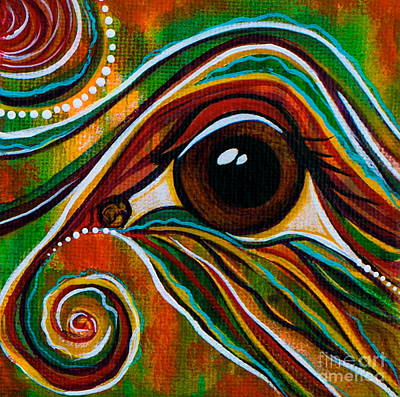 Inner Strength Spirit Eye Art Print
