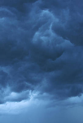 Photograph - Inner Turmoil 2 - Storm Clouds by Jane Eleanor Nicholas