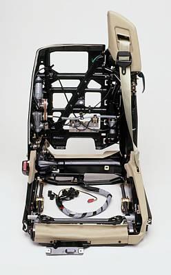 Mechanism Photograph - Inner Workings Of Electric Seat by Dorling Kindersley/uig