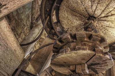Photograph - Inner Workings Of The Old Mill by Jason Politte