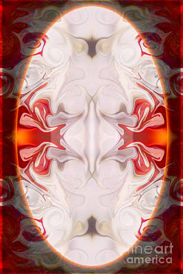 Digital Art - Innocence And Vibrant Life Abstract Mandala Artwork By Omaste Witkowski by Omaste Witkowski