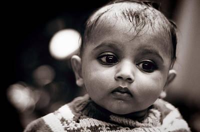 Photograph - Innocence by Money Sharma