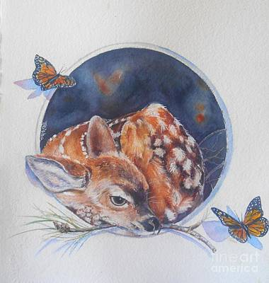 Innocence Art Print by Patricia Pushaw