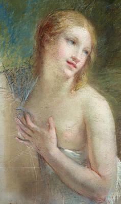 Semi-nude Drawing - Innocence by Pierre-Paul Prud'hon