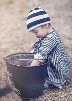 Photograph - Innocence Years by Eduard Moldoveanu