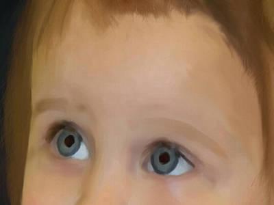 Painting - Innocent Faith by Dennis Buckman