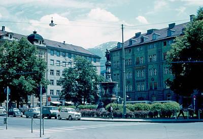 Innsbruck Austria 3 1962 Art Print by Cumberland Warden
