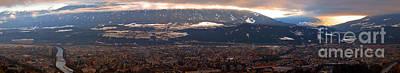 Settlement Photograph - Innsbruck Panorama by Michal Bednarek