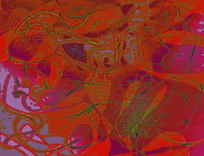 Digital Art - Innuendo by Expressionistart studio Priscilla Batzell