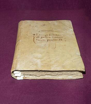 Confession Photograph - Inquisition Book Of Judgements by David Parker