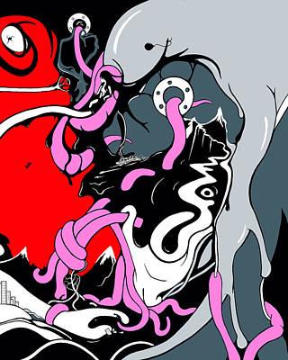 Digital Art - Insanity by Craig Tilley