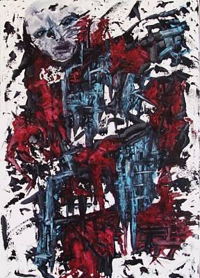 Painting - Insanity by Katerina Apostolakou