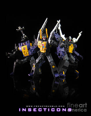 Seeker Mixed Media - Insecticons by Frenzyrumble
