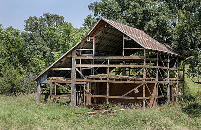 Lucille Ball - Inside A Barn by Edward Peterson