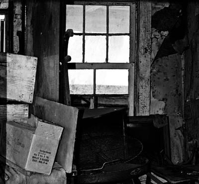 Inside Abandonment 2 Art Print
