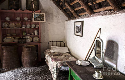 Photograph - Inside An Old Thatched Cottage by RicardMN Photography