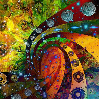 Inside Consciousness  Art Print