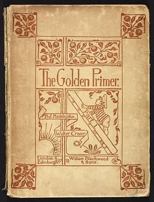 Inside Cover Of 'the Golden Primer' Art Print