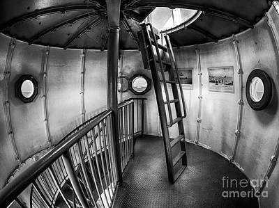 Photograph - Inside Edgartown Lighthouse 4 by Mark Miller