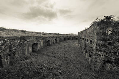 Photograph - Inside Fort Macomb by David Morefield