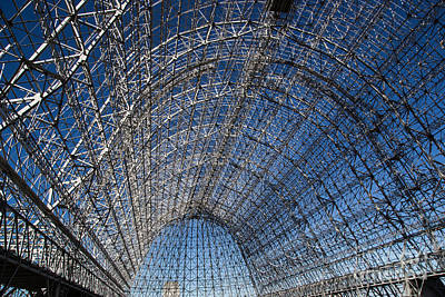 Photograph - Inside Hangar One by Suzanne Luft