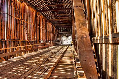 Inside Honey Run Bridge Original