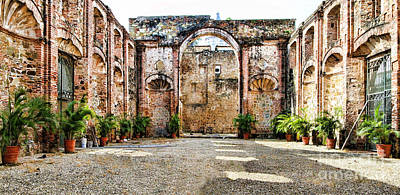 Inside Iglesia De Santo Domingo By Diana Sainz Art Print by Diana Sainz