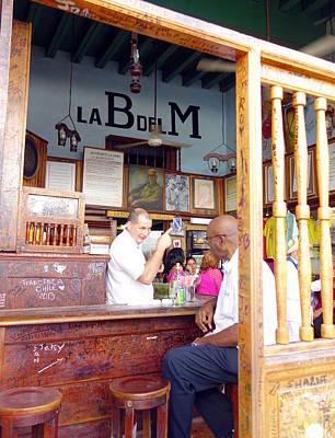 Inside La Bodeguita Del Medio Art Print