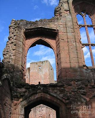 Kenilworth Castle Wall Art - Photograph - Inside Leicester's Building by Denise Railey