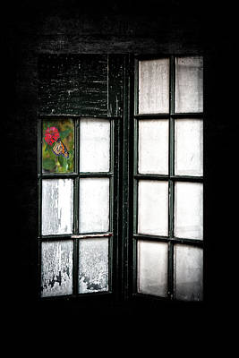 Inside Looking Out Art Print by Bobbi Feasel