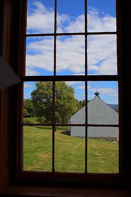 Art Print featuring the photograph Inside Looking Out by Debra Kaye McKrill