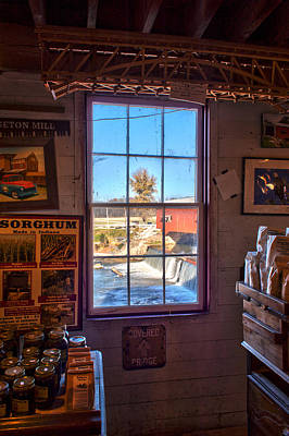 Bridgeton Covered Bridge Photograph - Inside Looking Out by Thomas Sellberg