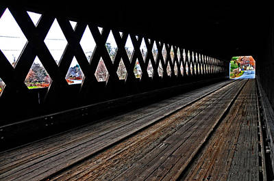 Photograph - Inside Middle Bridge by Mike Martin