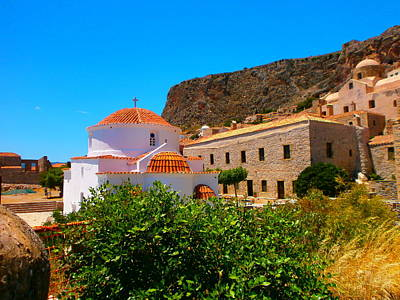 Photograph - Inside Monemvasia by Constantinos Charalampopoulos