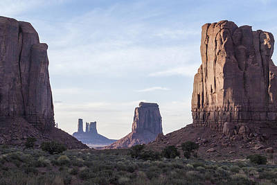 Photograph - Inside Monument Valley by Arkady Kunysz